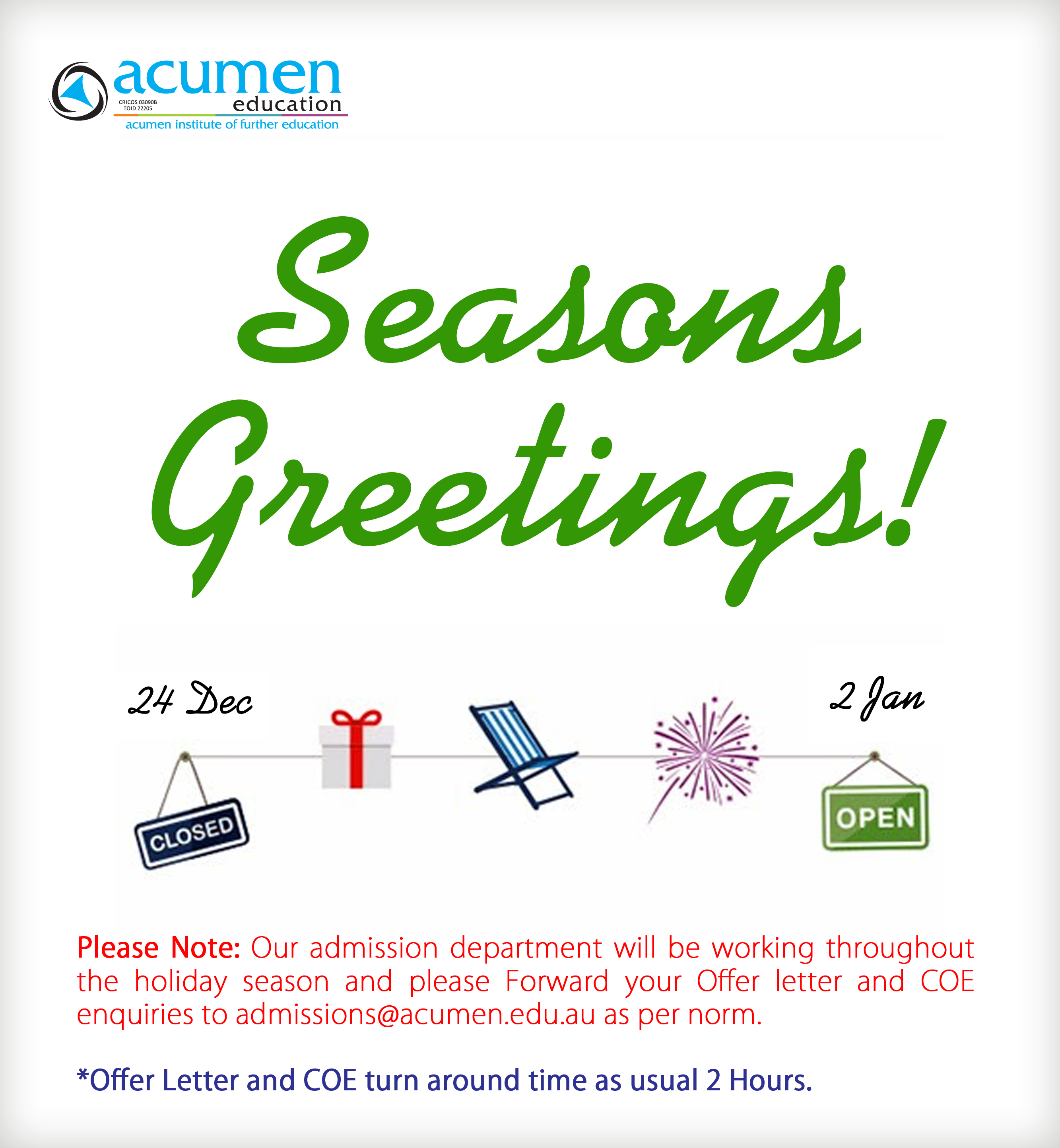 Seasons greetings 2017 acumen institute of further education share this story choose your platform kristyandbryce Gallery